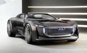 Audi Skysphere има променящо се междуосие и скриващ се волан