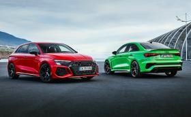 Това са новите Audi RS 3. Мощни са 400 коня и вдигат 0-100 за 3,8 секунди