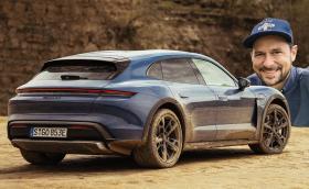 Представяме ви първото в България Porsche Taycan Cross Turismo! Видео!