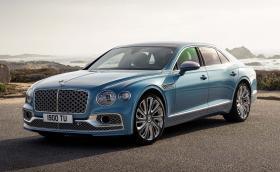 Това е най-луксозното Bentley, правено някога. Новият Flying Spur Mulliner!