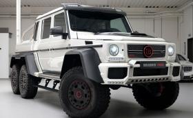 """Този Brabus B63 S e """"чисто нова"""" G 63 AMG 6x6, която се продава за… 2 млн. лв.!"""