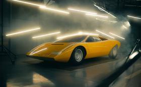 Lamborghini възстанови кола, разбита преди 50 години