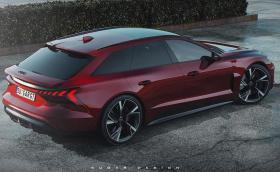 Audi e-tron GT Avant е електрическият брат на RS 6