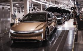 Lucid започна производството на Air - супер седан с над 1100 к.с. и пробег от 830 км