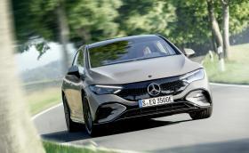 Звездата на Mercedes на IAA е новият EQE