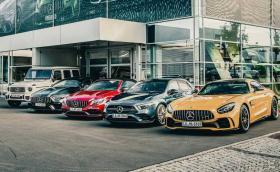 Mercedes слага V8 моторите в Щатите на пауза. Защо!?