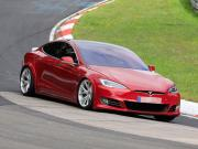 """Tesla Model S Plaid свали 12 секунди от рекорда на Taycan на """"Ринга"""""""
