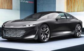 Audi Grandsphere: електрическо GT със 710 к.с., изчезващ волан и саксия в салона