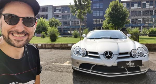 Mercedes-Benz SLR McLaren: сбъдваме мечта и караме сребърната стрела с 626 коня! Видео!