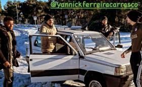 Заради снега: В Мадрид дори звездите се придвижват с Fiat Panda 4x4
