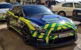 Португалската жандармерия използва Nissan GT-R за експресно пренасяне на органи!