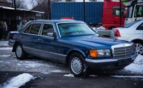 Продават най-добре запазения W126 Guard в България