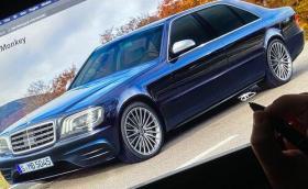 Вижте как W140 се превръща в модерна S-класа за 14 минути