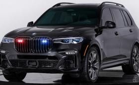 Това е първото в света бронирано BMW X7 M50i