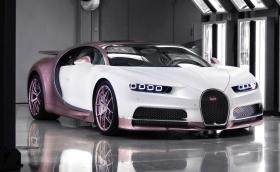 Да подариш розово Bugatti Chiron на жена си