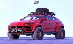 Lamborghini Urus за полярна експедиция