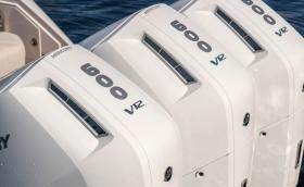 Mercury Verado V12 е първият извънборден V12 мотор за лодки. Мощен е 600 коня