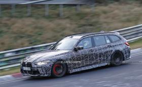 """BMW M3 Touring върти """"Ринга"""" с нагорещени спирачки"""