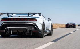 Вижте как Bugatti тества маниакалното Centodieci