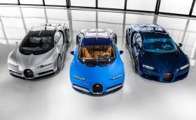 Останаха точно 40 броя Bugatti Chiron