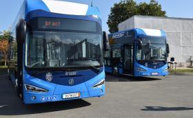 Бургас минава на изцяло електрически градски транспорт