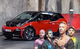 Coldplay ще захрани турнето си с рециклирани батерии от BMW i3