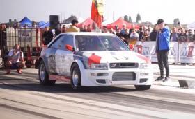 Българското Audi S2 Quattro постави световен рекорд на 402 м (Видео)