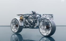 Tardigrade е космочески мотоциклет, вдъхновен от лунохода