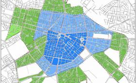 Вижте новите граници на зелена и синя зона в София от 1 декември