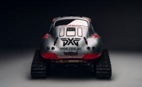 Porsche 356 с вериги и ски тръгва към Антарктика