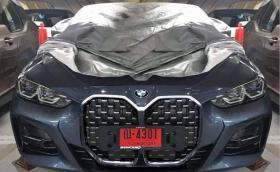 Това е новото BMW Серия 4. Решетката му е... голяма