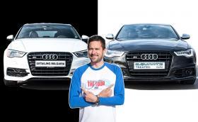 Карахме Audi S3 и Audi S6. Видео!