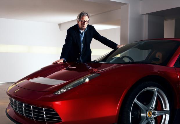 """Ferrari SP12 EC, колата на Ерик Клептън. По-скъпа е от """"българското"""" Bugatti Chiron"""