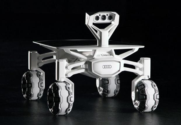 Audi праща Quattro на Луната. Галерия