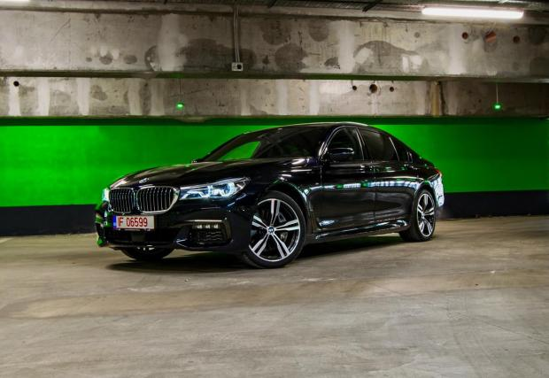 Галерия 34 кадъра. BMW 750Ld