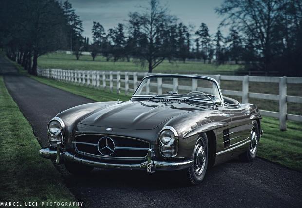 34 великолепни снимки. Mercedes-Benz 300 SL Roadster