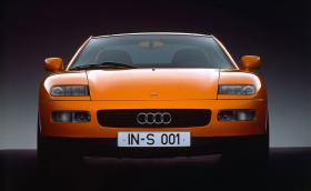 1991 Audi Quattro Spyder Concept е изпреварило времето си. Галерия и инфо