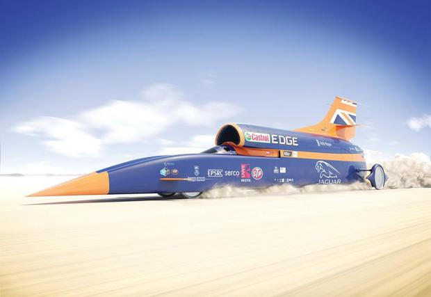 01. Bloodhound SSC