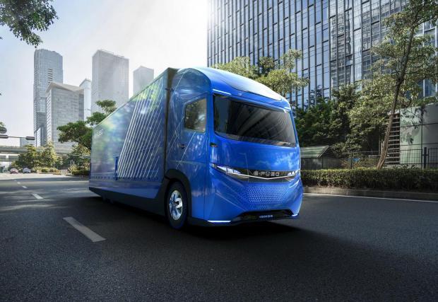 Новият Vision One ще е в пъти по-икономичен от дизелов камион
