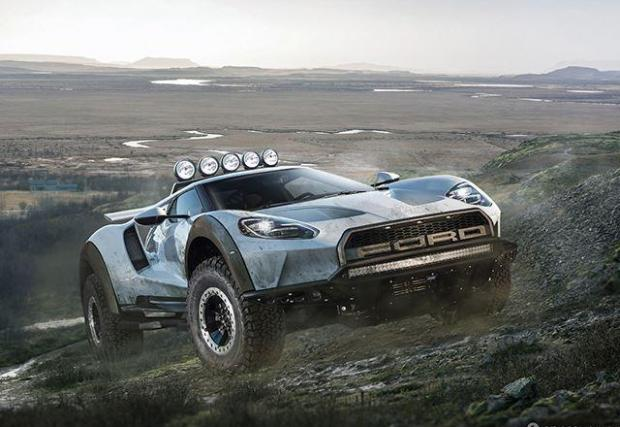 Ford GT и F-150 Taptor