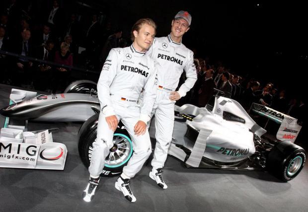 Завръщането във Формула 1 като съотборник с Нико Розберг
