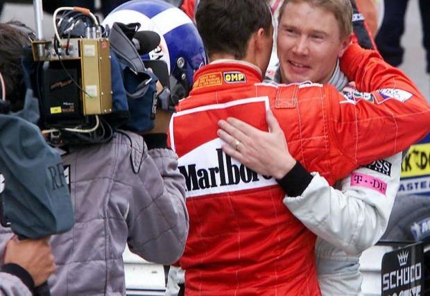 Според самия Михаел най-трудният му съперник е бил Мика Хакинен с McLaren-Mercedes в края на 90-те