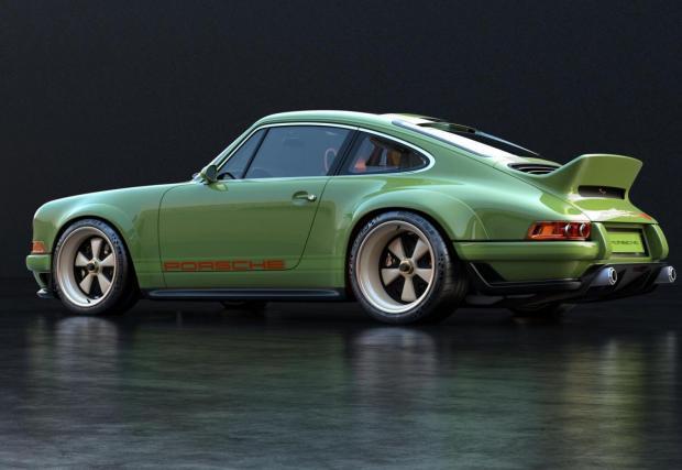 Singer Porsche 911: Всичко, около тази кола е мега, толкова мега, че не знаем откъде да започнем. Нека бъде от двигателя. Той е произведение на изкуството. Базиран е на оригиналния 3,6-литров атмосферен шестак M64