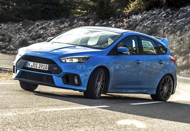 5. Ford Focus RS: 4,7 секунди до 100 км/ч