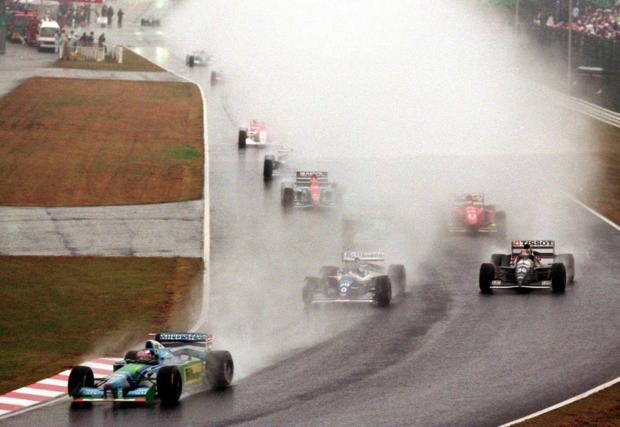 Михаел винаги е бил смятан за един от най-добрите на дъжд