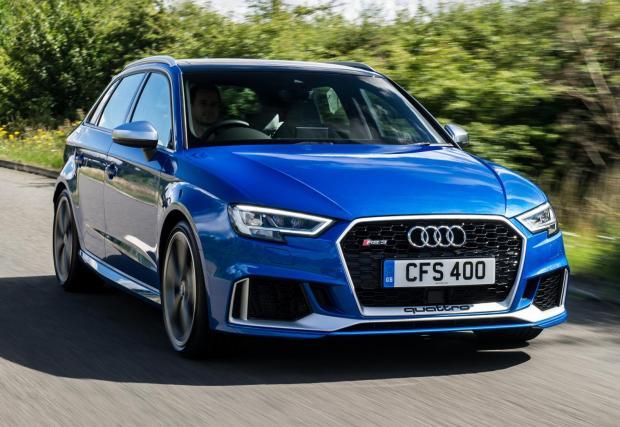 1. Audi RS3: 4,1 секунди до 100 км/ч