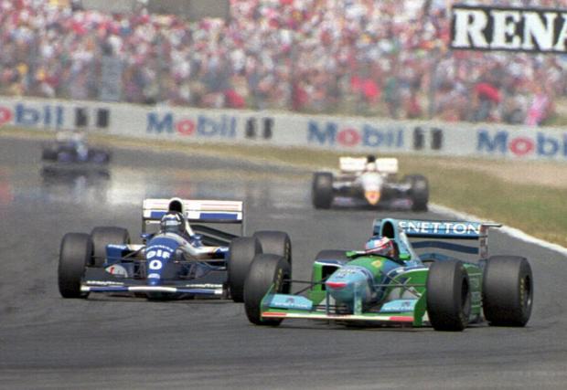 Сблъсъците с Деймън Хил белязаха цяла епоха във Формула 1...