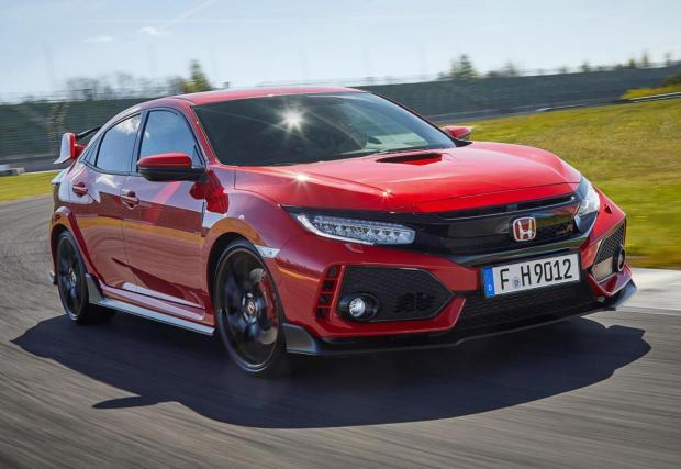 7. Honda Civic Type R: 5,7 секунди до 100 км/ч