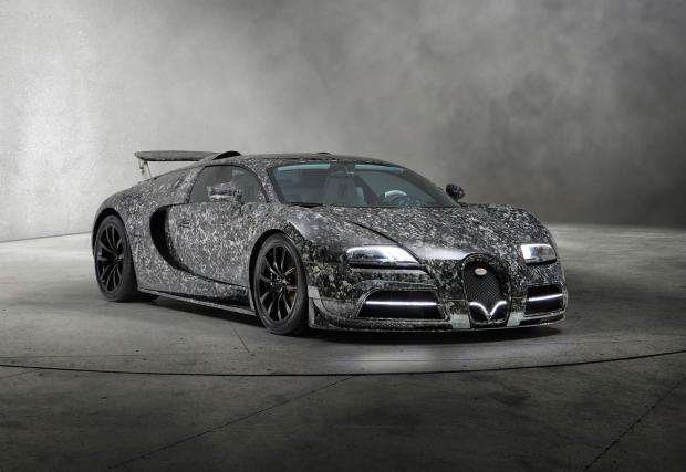 Mansory Vivere Diamond Edition е Veyron за тези, които не могат да си позволят Chiron
