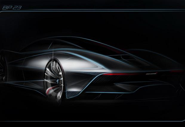 Галерия с три официални илюстрации от McLaren